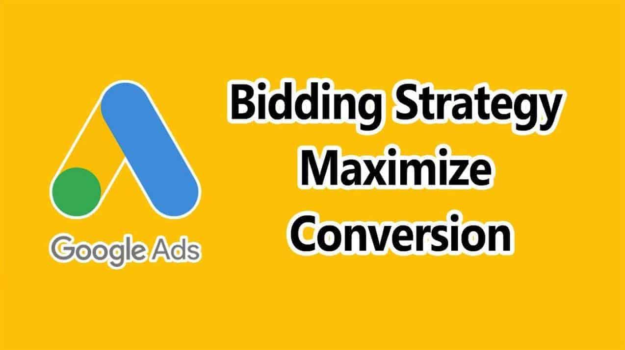 strategia massimizza conversioni Google Ads