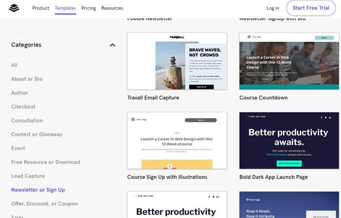 I migliori strumenti e servizi per creare le landing page